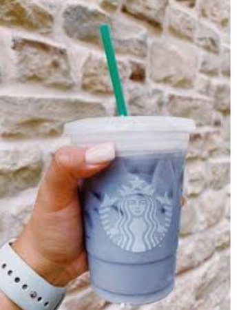 Blue starbucks drink