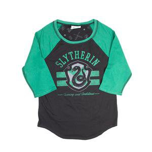 Harry Potter Slytherin Juniors Raglan T-shirt – Harry Potter Shop