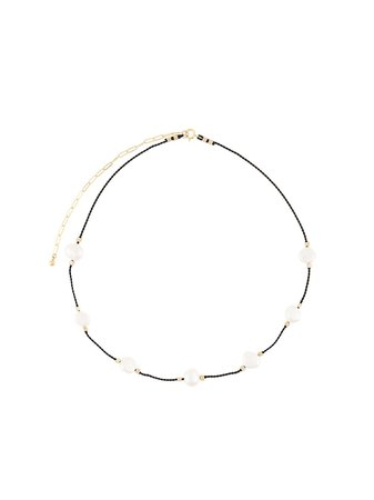Petite Grand Freshwater Pearl Cord Necklace - Farfetch