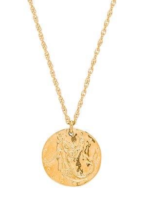 Sirena Coin Medallion Necklace