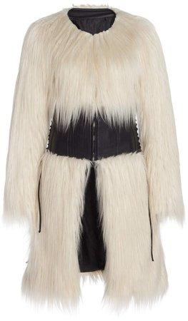 Monot Shaggy Fur Coat