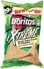 Doritos Extreme Zesty Sour Cream & Cheddar
