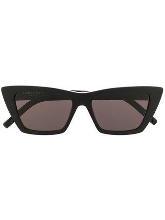 Saint Laurent Eyewear SL276 Cat eye-solglasögon - Farfetch