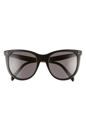 CELINE 53mm Cat Eye Sunglasses | Nordstrom