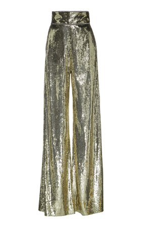Sequined Tulle Wide-Leg Pants by Dundas | Moda Operandi