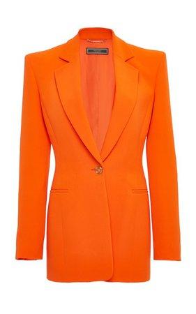 Silk Cady Blazer by Versace | Moda Operandi