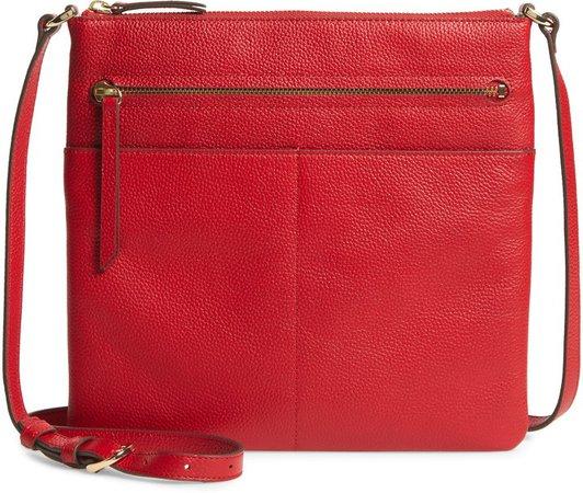 Phoebe Leather Crossbody Bag