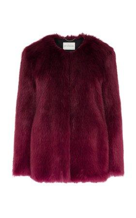 Thalia Fur Coat by Mary Katrantzou | Moda Operandi