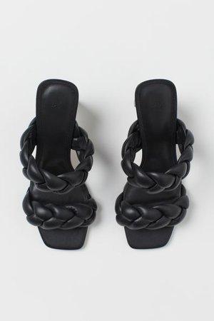 Sandals - Black - Ladies | H&M US