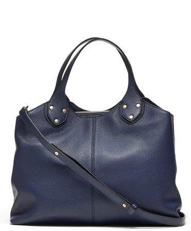 Italian Leather Carryall Bag