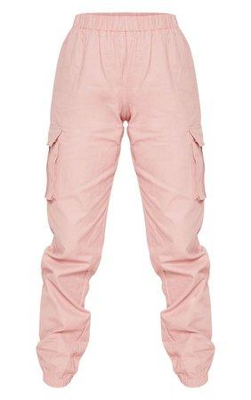 Petite Khaki Pocket Detail Cargo Pants   PrettyLittleThing USA