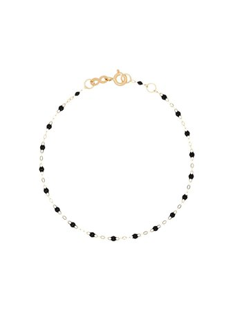 Gigi Clozeau 18kt Yellow Gold Beaded Bracelet - Farfetch