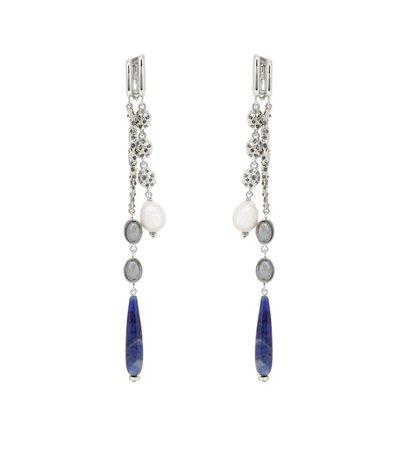 Celeste Pearl And Stone Earrings - Chloé | Mytheresa