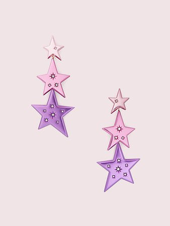 star of the show statement linear earrings | Kate Spade New York