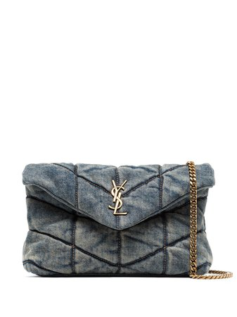 Saint Laurent Loulou puffer shoulder bag