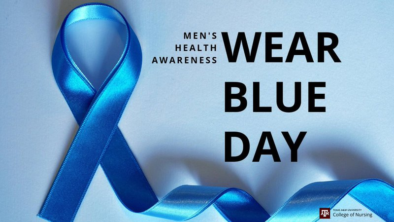 national wear blue day men's health - Google Search