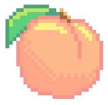 Pixel Peach
