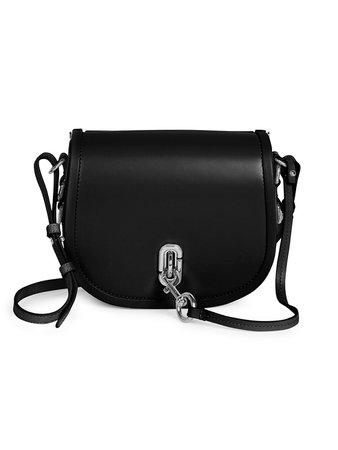 Marc Jacobs The Saddle Bag Leather Crossbody Bag on SALE | Saks OFF 5TH