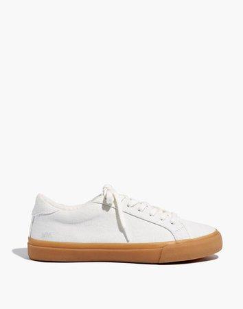 Women's Sidewalk Low-Top Sneakers in Monochrome Canvas