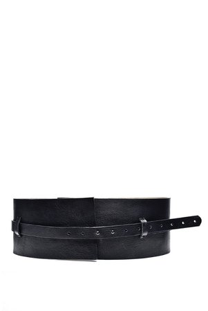 Modern Black Leather Belt for WomenUnique Fashion Handmade | Etsy