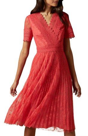 Sonyyia Faux Wrap Dress