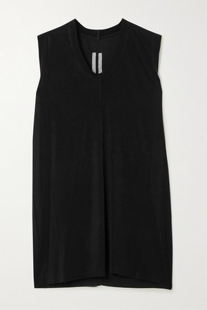 Stretch-jersey Tank - Black