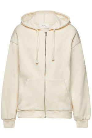 American Vintage - Cotton Zipped Hoody - beige