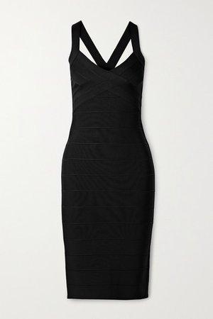 Icon Bandage Dress - Black