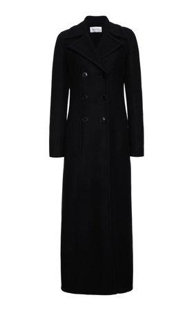 Double-Breasted Wool-Blend Coat By Valentino   Moda Operandi