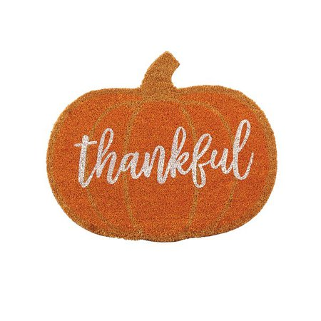 Thankful+Pumpkin+Thanksgiving+Fall+Doormat.jpg (600×600)