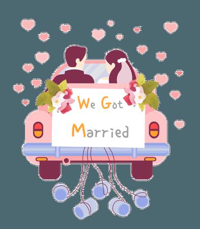 We Got Married Reboot Logo - English