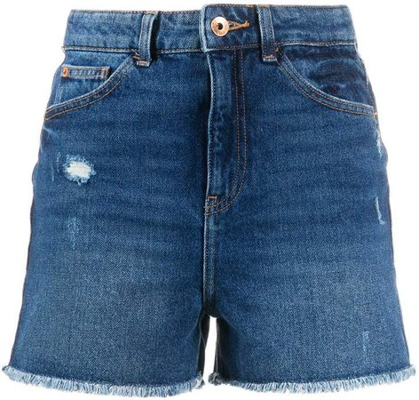 J32 Slim high-waisted shorts