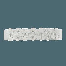 belt flower white