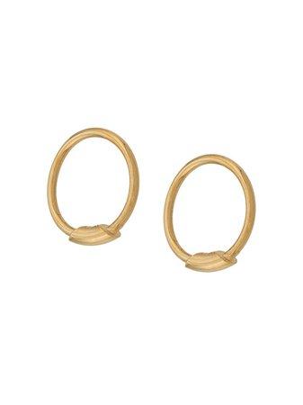 Maria Black Basic XS Hoop Earrings - Farfetch