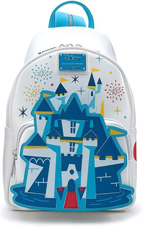 Amazon.com: Funko Loungefly: Disney 65th - Disney Castle Sling to Mini Backpack: Toys & Games
