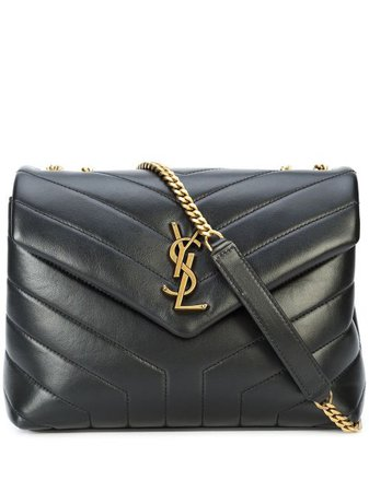 Shop black Saint Laurent Loulou shoulder bag with Express Delivery - Farfetch
