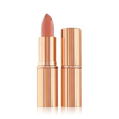 Bitch Perfect - K.i.s.s.i.n.g - Peach Nude Lipstick   Charlotte Tilbury
