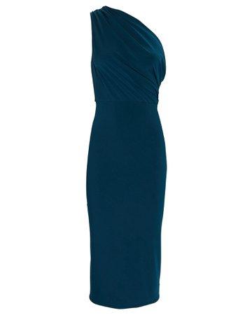 Katie May Kong Draped One-Shoulder Dress | INTERMIX®