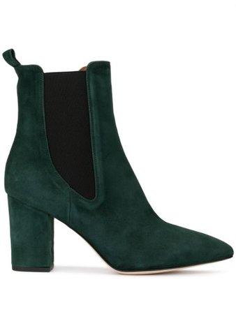 Green Paris Texas High-Heel Chelsea Boots | Farfetch.com