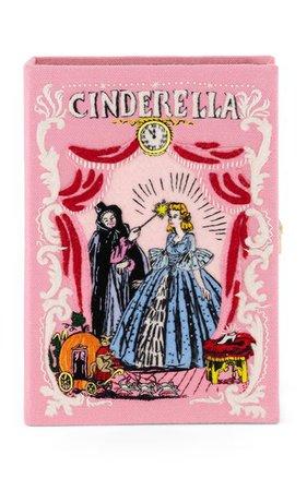 Cinderella Embroidered Book Clutch By Olympia Le-Tan   Moda Operandi