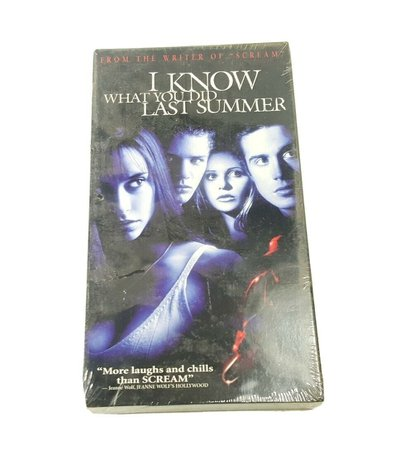 I Know What You Did Last Summer (VHS, 1998) 43396239234 | eBay