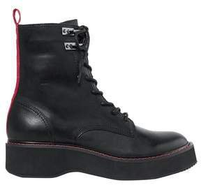 In Charge Leather Ankle Boots