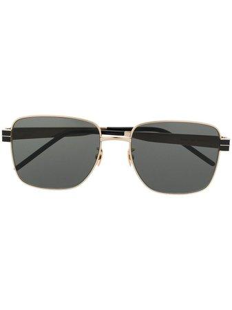 Saint Laurent Eyewear SL M55 square-frame Sunglasses - Farfetch