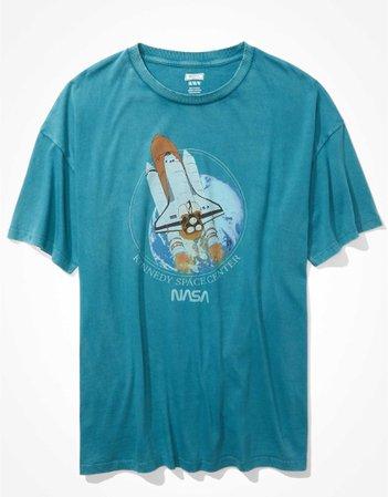 Tailgate Women's Oversized NASA Graphic T-Shirt