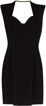 Sweetheart Neckline Mini Dress