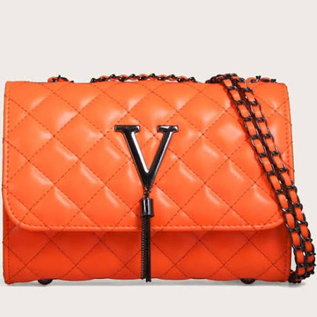 black and orange handbag - Google Search