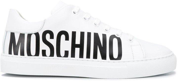 Logo-Print Low-Top Sneakers