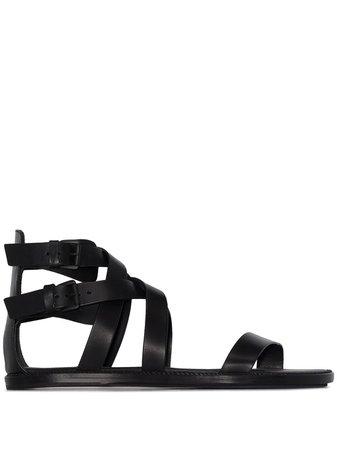 Ann Demeulemeester Flat Gladiator Sandals - Farfetch