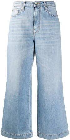 Cropped Style Jeans