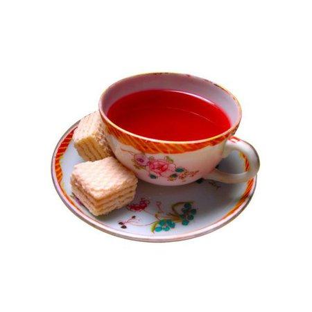tea png red filler drink